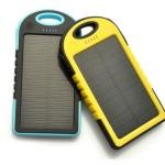 Solar Waterproof Power Bank / 5000mAh